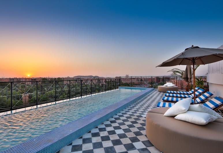 2Ciels Boutique Hotel & SPA, Marrakech, Alberca en el piso superior