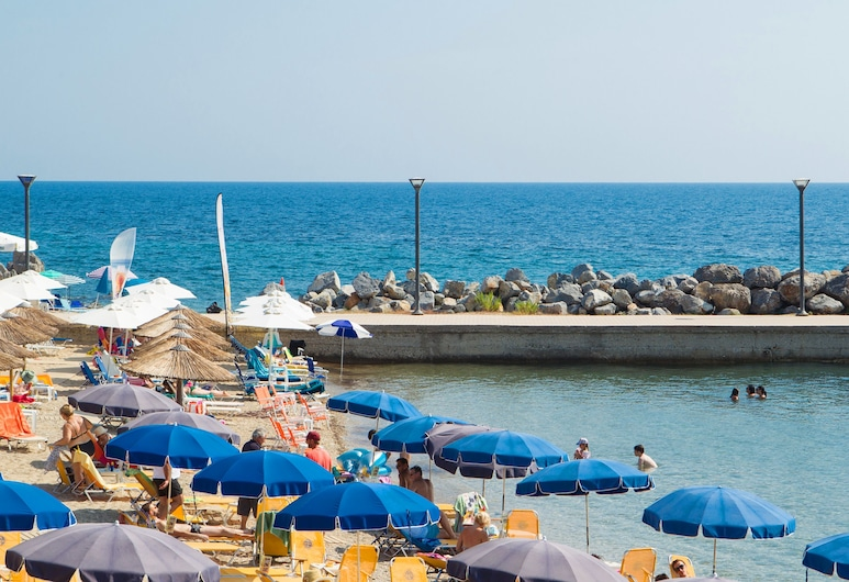Xenios Loutra Village Beach Hotel, Kassandra, Plaża