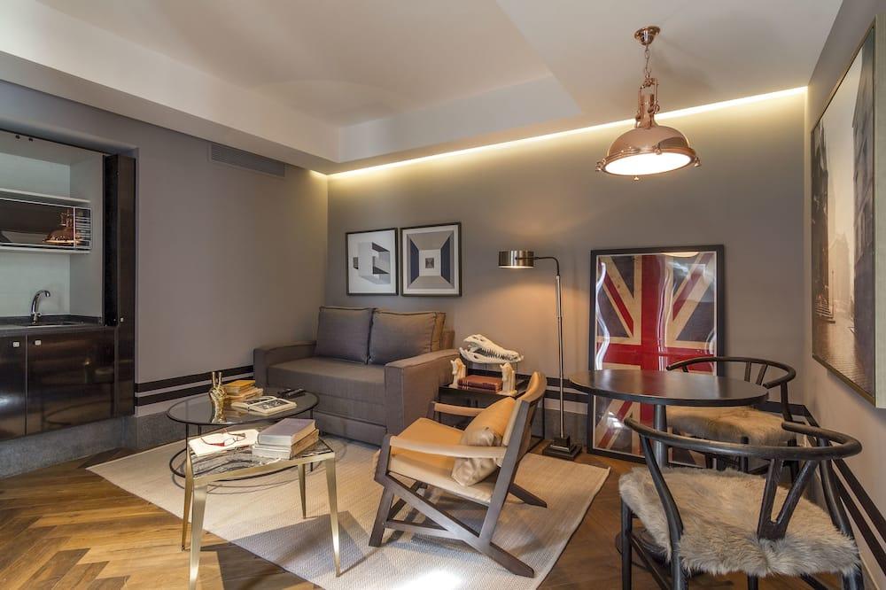 Suite estudio superior - Sala de estar