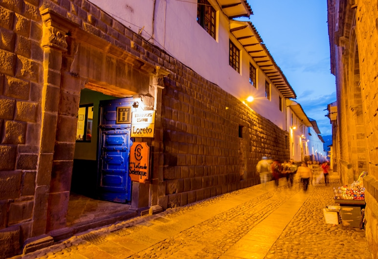 Yabar Hotel Plaza, Cusco, Entrada do Hotel
