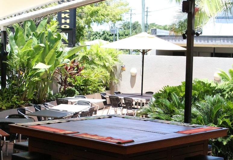 Tandara Hotel Motel, Sarina, Opciones de restauración (exterior)