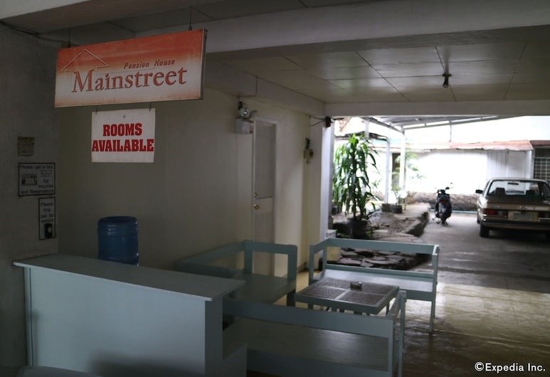 Mainstreet Pension House, Bacolod, Resepsionis