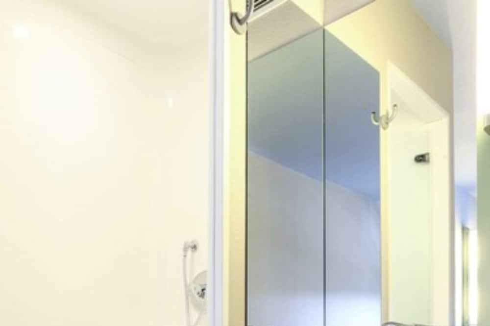 Double Room, 1 Single Bed - Bathroom