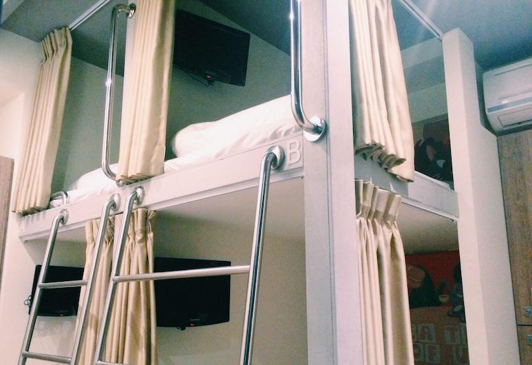 巴客來青年旅館, 台北市, 優質女生宿舍(4人房型) - 單人床, 客房