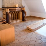 Classic-Doppelzimmer (Saturnia Pyri) - Wohnzimmer