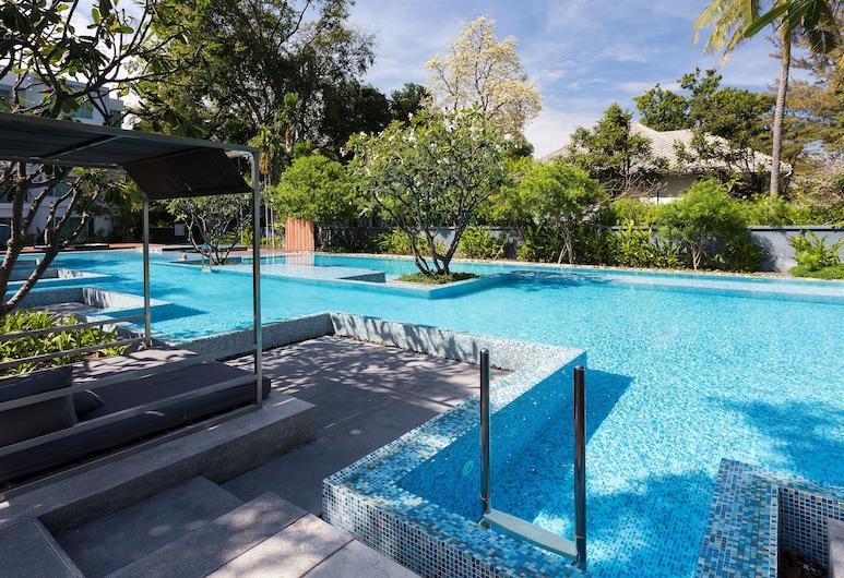 班桑德奧海濱公寓酒店, Hua Hin, 泳池瀑布