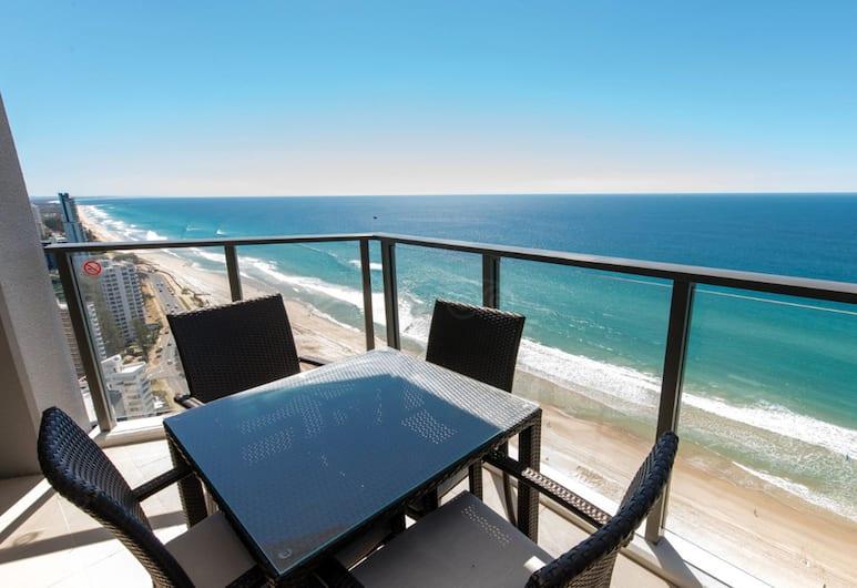 Rhapsody Resort, Surfers Paradise, Lejlighed - 1 soveværelse - havudsigt, Altan