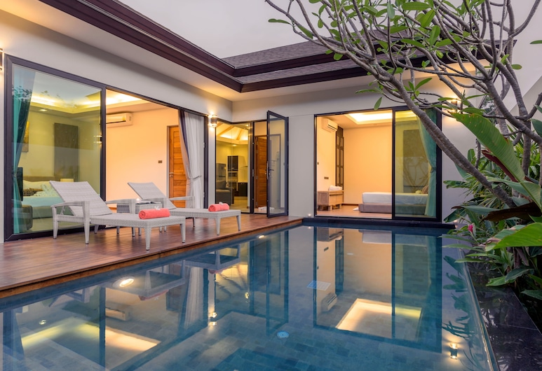 La Ville Phuket Pool Villa, Thep Kasattri, 2 Bedrooms Private Pool Villa, Terrace/Patio