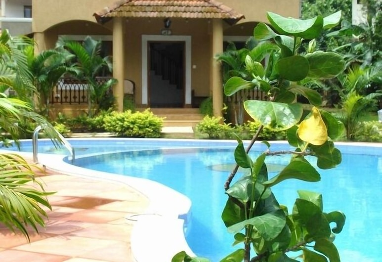Villa Fountain Court near Anjuna Beach, Assagao, Kolam Terbuka