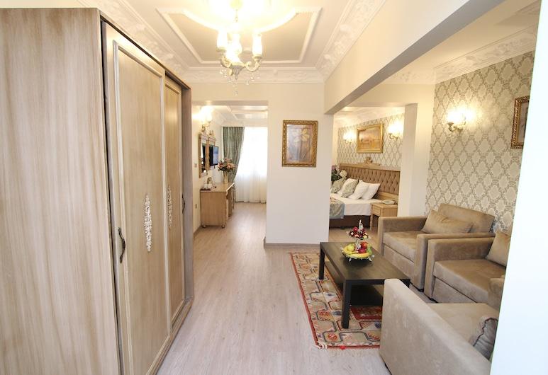 Apple Tree Hotel, Stambulas, šeimyninis kambarys, Svečių kambarys