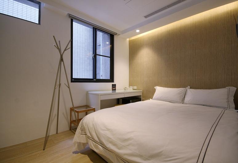 小西城旅店, 台中市, 標準雙人房, 客房