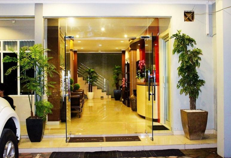 日惹諾富特酒店, 日惹, 酒店入口