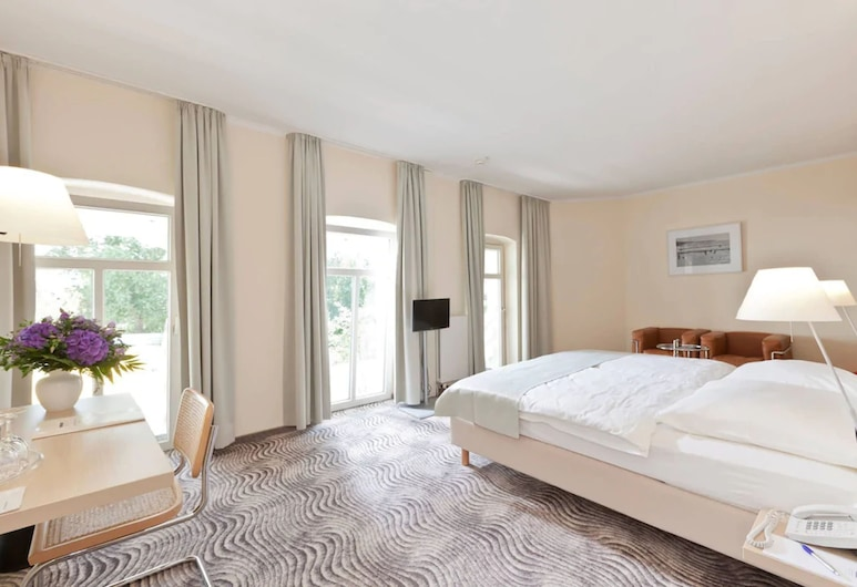 Michels Thalasso Hotel Nordseehaus, נורדרנאי, חדר סופריור זוגי, חדר אורחים