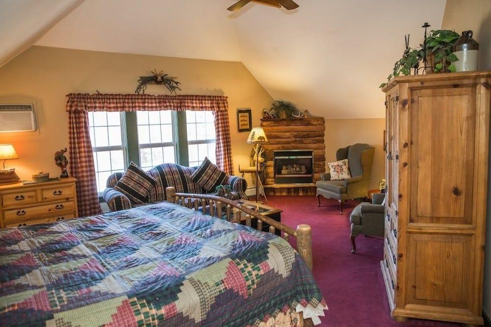 Suite, bañera de hidromasaje - Zona de estar