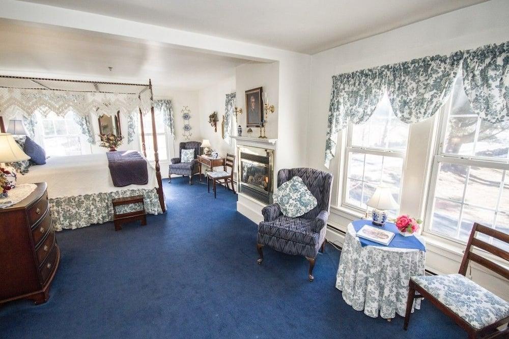 Suite Deluxe, bañera de hidromasaje - Zona de estar