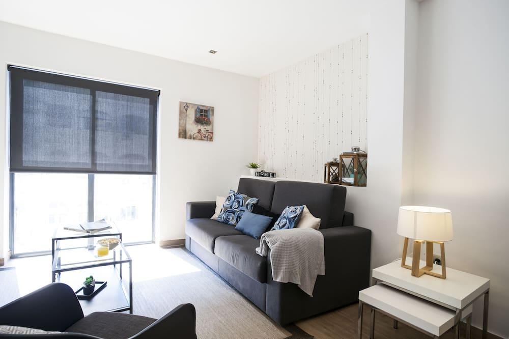 アパートメント 2 ベッドルーム テラス - リビング ルーム