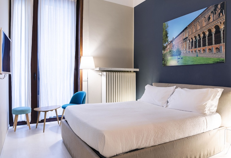 BC MAISON bed&cafe Milano, Milan, Double Room, Balcony, Guest Room