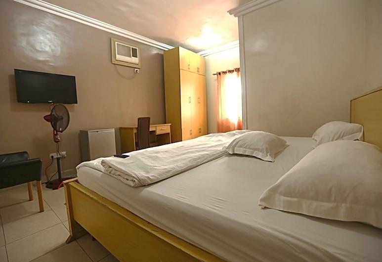 Semper Diamond Lodge, Lagos, Izba typu Deluxe, 1 extra veľké dvojlôžko, výhľad na mesto, Izba