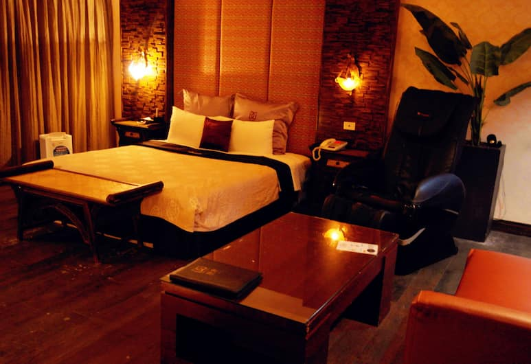 Discovery Motel - Tucheng, New Taipei City, Deluxe Double Room, 1 Bedroom, Guest Room
