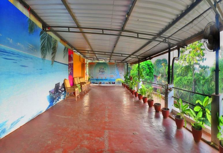 Hotel Viva Baga, Baga, Terasa / vidinis kiemas