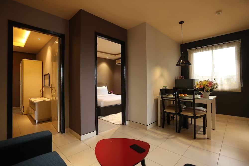 Family Apartment, Balcony - Living Area