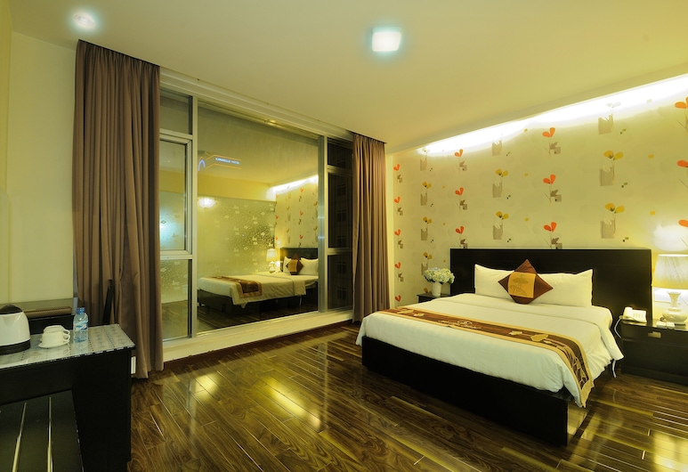 Good Vibes Boutique Hotel, Ho Chi Minh City, Deluxe Double Room, 1 Bedroom, City View, Guest Room