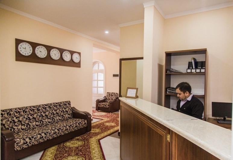 Art Hotel, Tashkent, Recepción