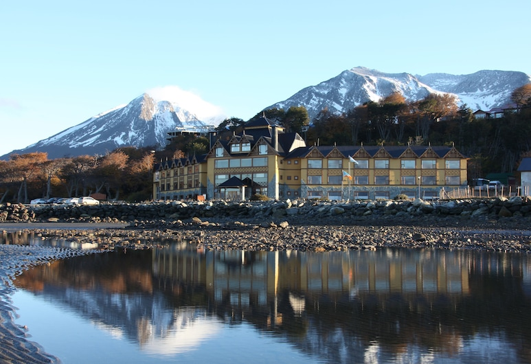 Hotel Los Yamanas, Ushuaia, ด้านหน้าของโรงแรม