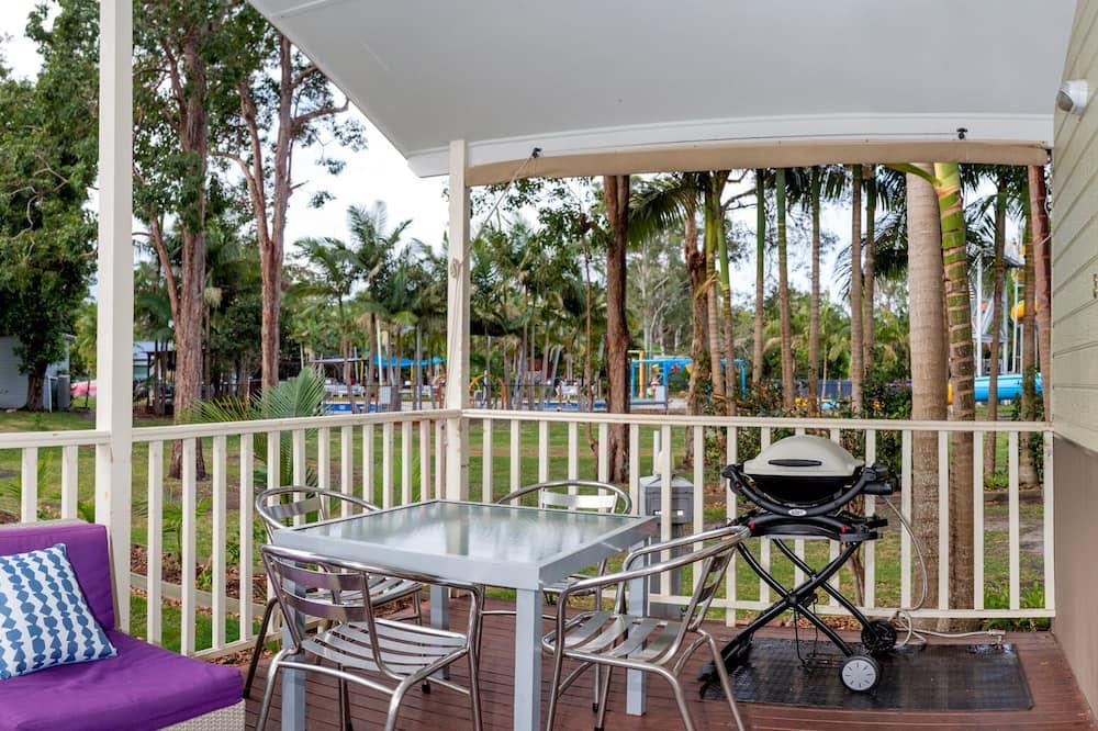Cabin, 2 Bedrooms, Garden Area - Balkoni