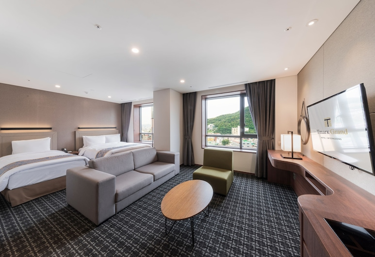 Tmark Grand hotel Myeongdong, Seoul, Family Suite, Guest Room View