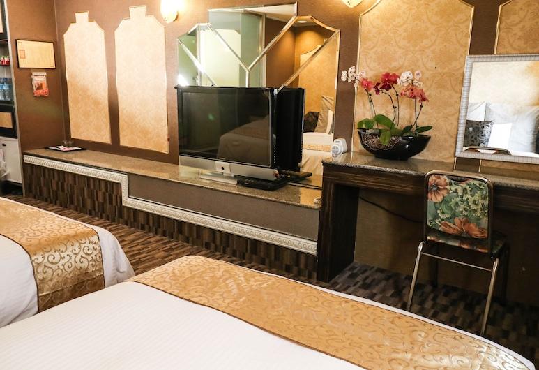 貝斯特旅店, 台北市, 雙床房, 2 張標準雙人床, 客房