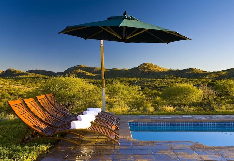 Windhoek Game Camp, Windhoek, Piscine en plein air