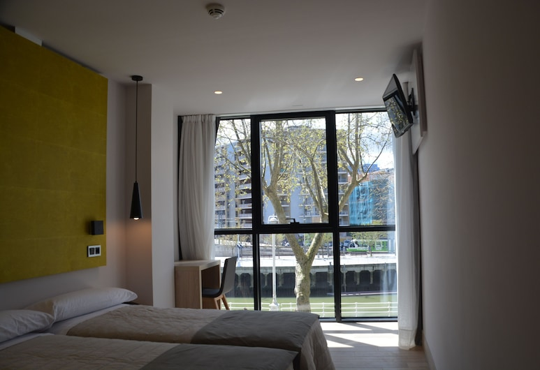 Hotel Bilbao Plaza, Bilbao, Chambre Double ou avec lits jumeaux, Chambre