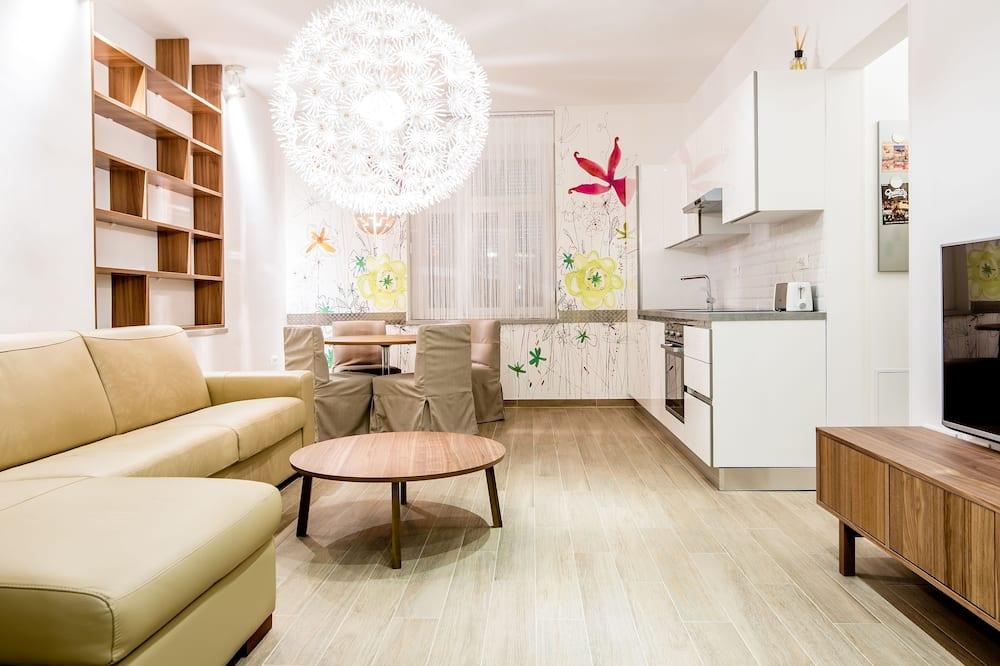 Lejlighed - 2 soveværelser (5 Adults) - Opholdsområde