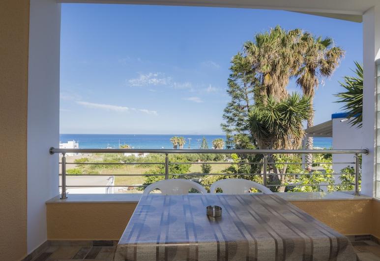 Villa Giorgos, Kos, Luxe huis, 2 slaapkamers, Uitzicht op de baai, uitzicht op zee, Terras