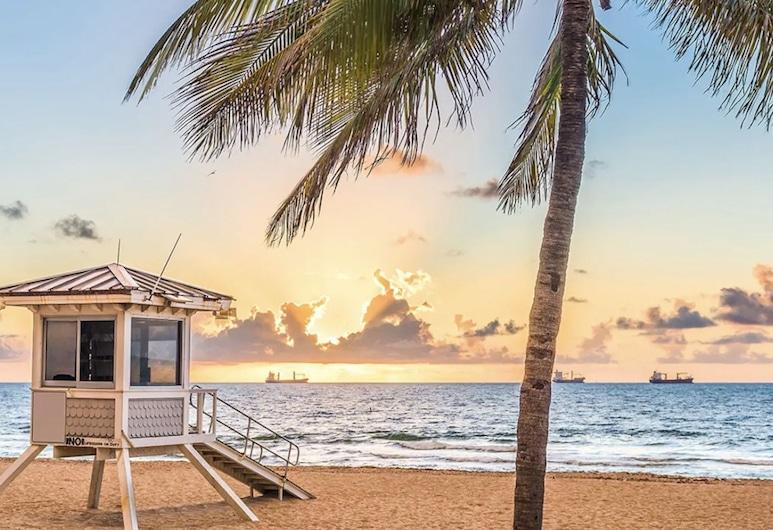 Sibi Beach Hotel, Fort Lauderdale, Strand