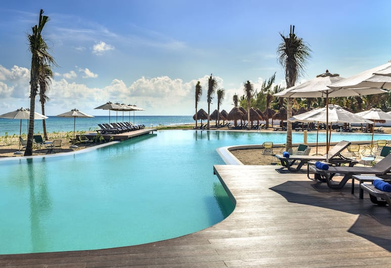Ocean Riviera Paradise El Beso - All Inclusive - Adults Only, Playa del Carmen, Basen odkryty