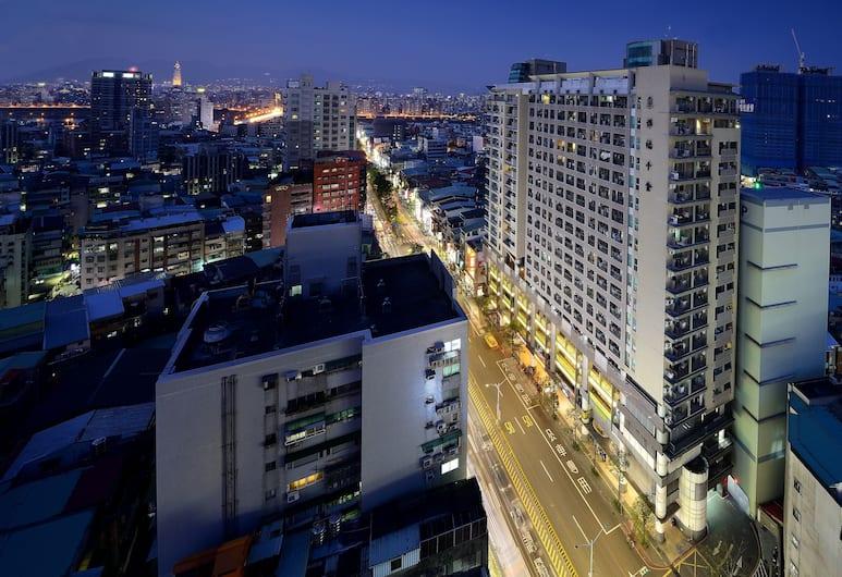 Park City Inn & Hostel - Yonghe Taipei, Naujasis Taipėjus, Viešbučio fasadas vakare / naktį