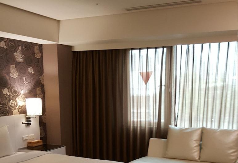 全家商務旅店, 新北市, 尊爵套房, 一大床, 客房