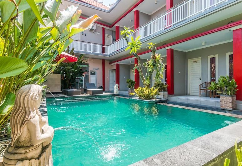 ZEN Rooms Basic Kuta Tegal Wangi, Kuta, Hồ bơi ngoài trời