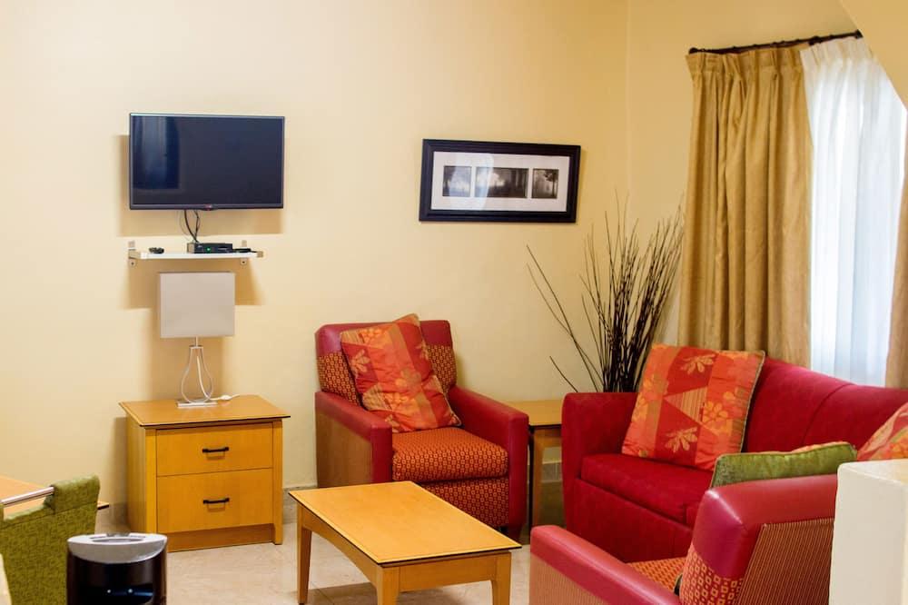Apartamento Premium - Área de Estar