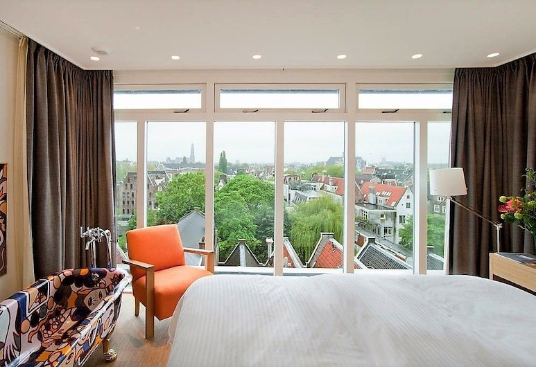 The Bank Hotel, Amsterdam, Penthouse, City View, Guest Room