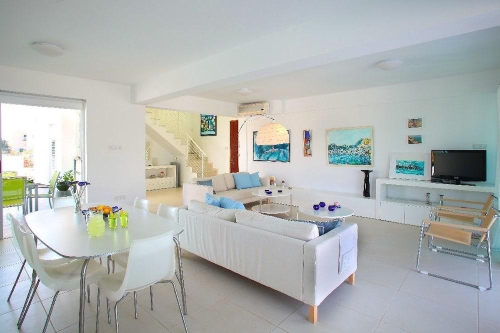 Maja, 4 magamistoaga (Architects) - Lõõgastumisala