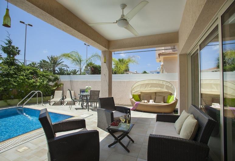 Protaras Villas Michelle, Protaras, Villa, 3 Bedrooms (Michelle 7), Terrace/Patio