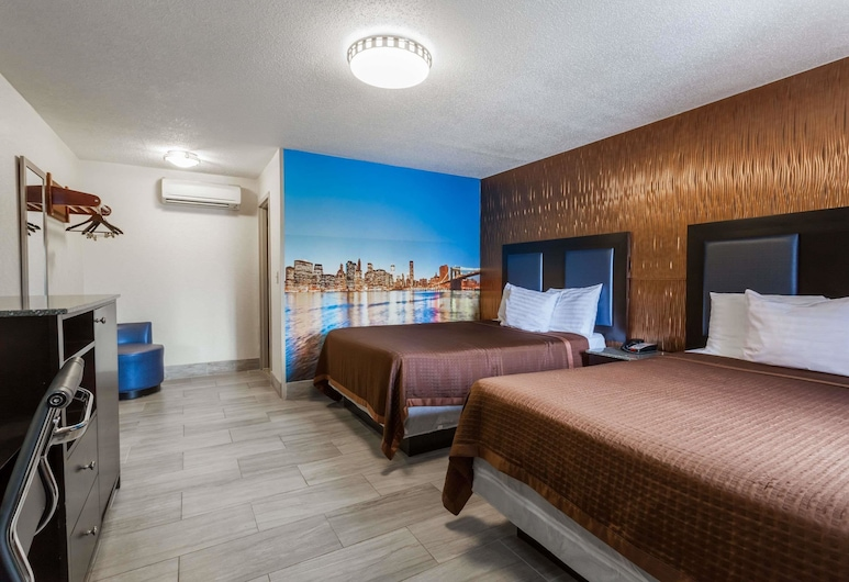 Travelodge by Wyndham South Hackensack, South Hackensack, Room, 2 Queen Beds, Non Smoking, Guest Room