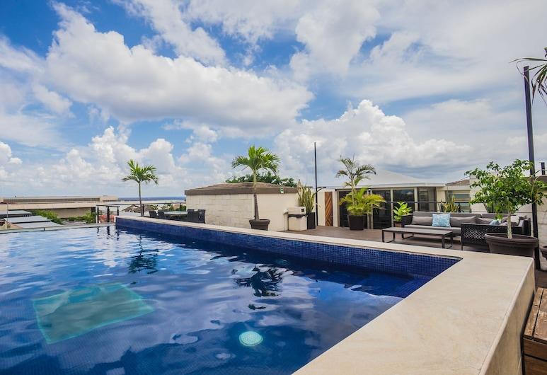 Lotus Luxury Condo, Plaja del Karmenas, Baseinas