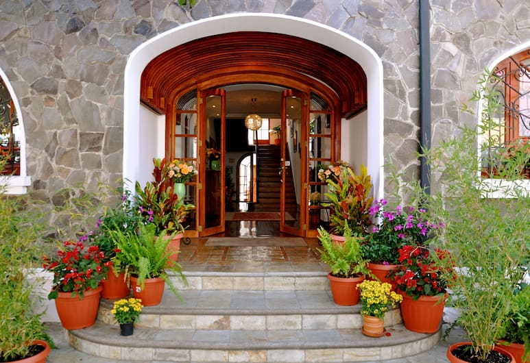 Boutique Hotel Casa Foch, Quito, Hotellets indgang
