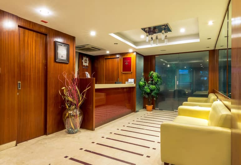 Octave Suites Residency Rd, Bengaluru, Lobby Sitting Area