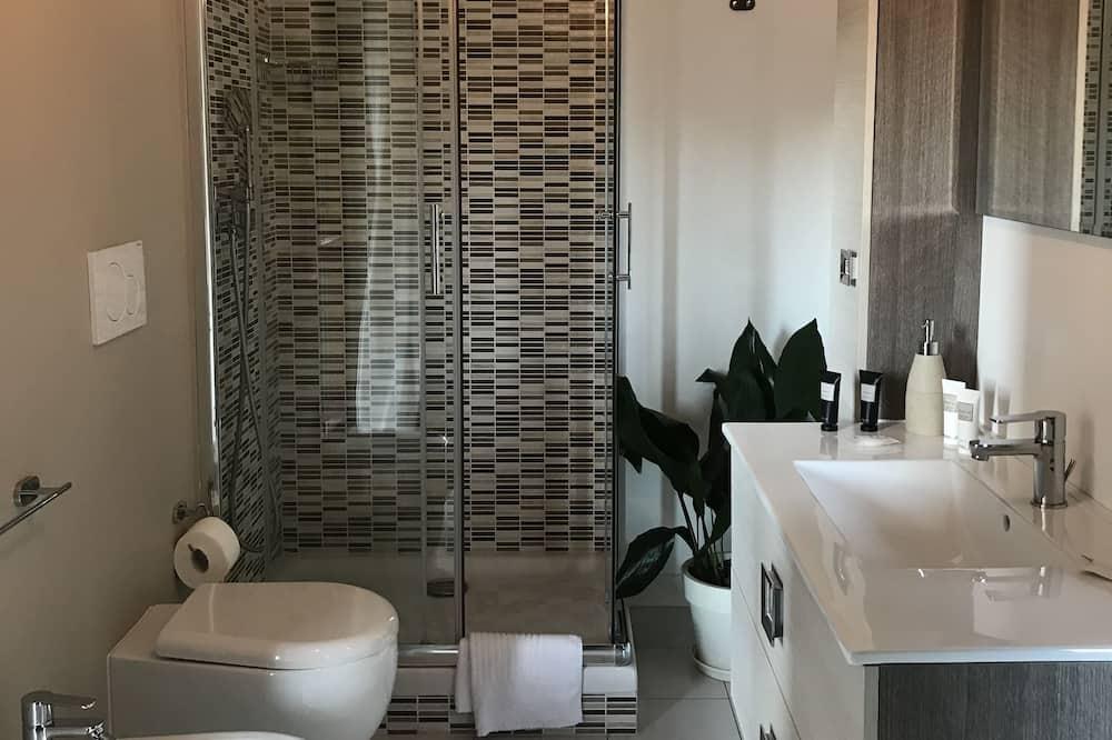 Doppia Comfort, 1 letto king, bagno privato, vista giardino - Bagno