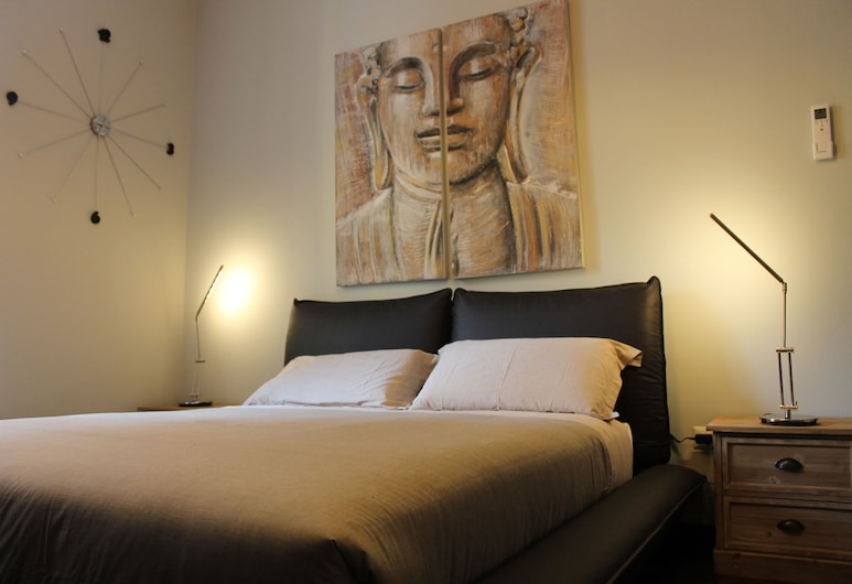 로만 포럼 홀리데이 테르미니, 로마, 더블룸, 전용 욕실, 객실